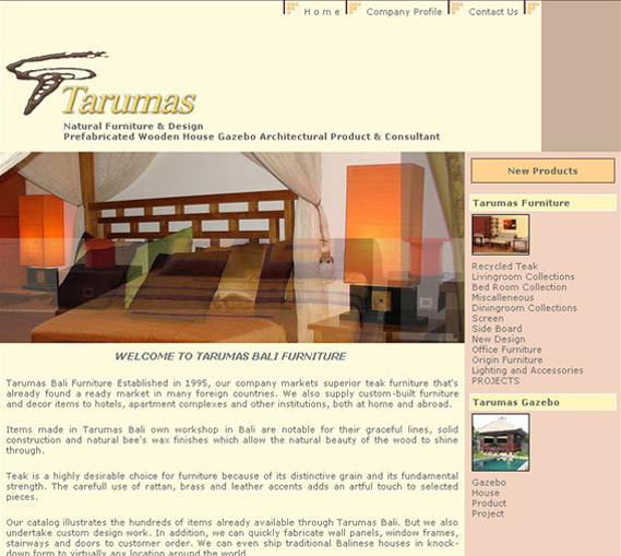 Tarumas Furniture Bali