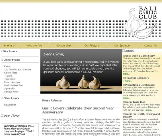 Bali Garlic Club