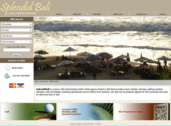 Splendid Bali - Luxury Holiday Retreats