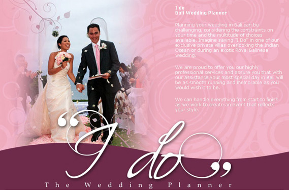I Do – Bali Wedding