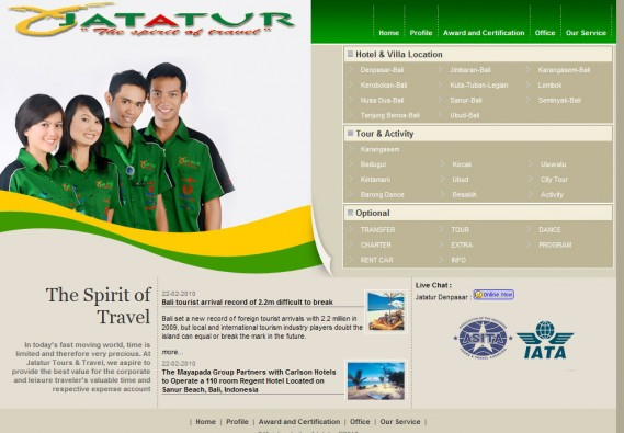 jatatur - Bali Travel and Agent