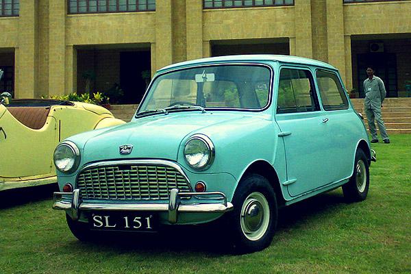 1963 Austin Mini 850 Mark I