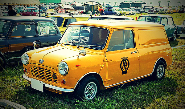 Austin Mini Van, The Automobile Association livery