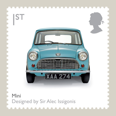 Limited Edition 'British Design Classic' Mini Stamp by Royal Mail