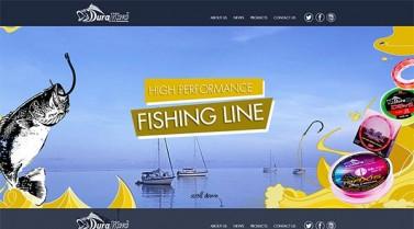 Responsive onepage style – Duraking Fishing