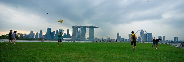 Singapore – The Three Towers