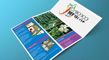 Z Fold Brochure – Color Me Bali Villa