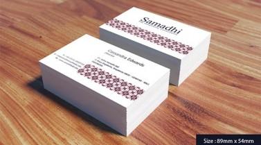 Business Card – Samadhi Bali